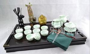 供应 莲瓣式茶具陶瓷茶具 质量保证