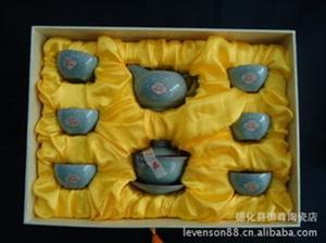 哥窑 茶具 功夫茶具 礼品瓷 陶瓷