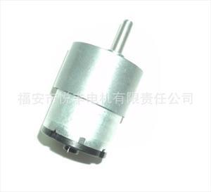 520 微型直流减速电机 马达 直流电动机供应商 福安市悦丰电机有限图片