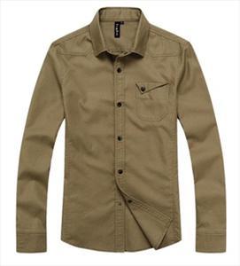 新款男士衬衫 男 长袖衬衣男 男装休闲修身纯棉衬衣HC-307