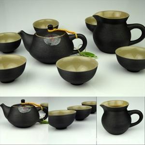 德化陶瓷 陶茶具 功夫茶具套装 高档茶具套装 陶 丰陶 台湾茶具