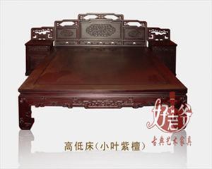 罗汉床,红木床,高低床,古典家具 明清家具