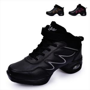 爵士舞蹈鞋 现代舞 增高健身鞋真皮跳操鞋 广场舞蹈鞋 跳舞鞋批发
