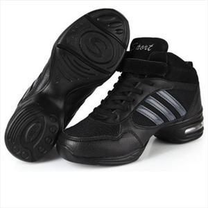 正品舞蹈鞋 现代舞鞋 女式 广场舞 增高跳舞鞋 网面健美操鞋批发