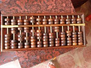 老挝大红酸枝算盘、红木算盘、高级礼品、红木古典家具