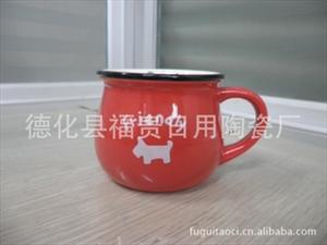 供应批发陶瓷早餐杯 马克杯 ZAKKA复古杯 星巴克杯