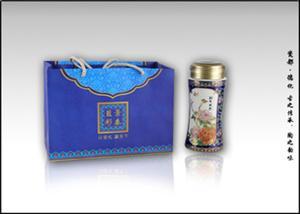 【厂家直销】景泰蓝陶瓷保温杯批发 养生保温杯 商务礼品水杯