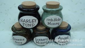 西洋欧式储物罐 窑变密封罐 英文字母罐 木塞罐 促销价 混装 1210