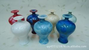 供应结晶釉 迷你美人瓶 陶瓷工艺品 香水瓶 时尚装饰 特价2179