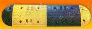 厂家直销黄黑相间橡胶减速带 橡胶减速板 小区专用