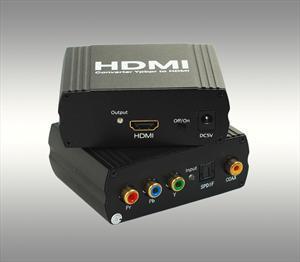 盖亚 YUV+SPDIF TO HDMI信号转换器 色差转HDMI