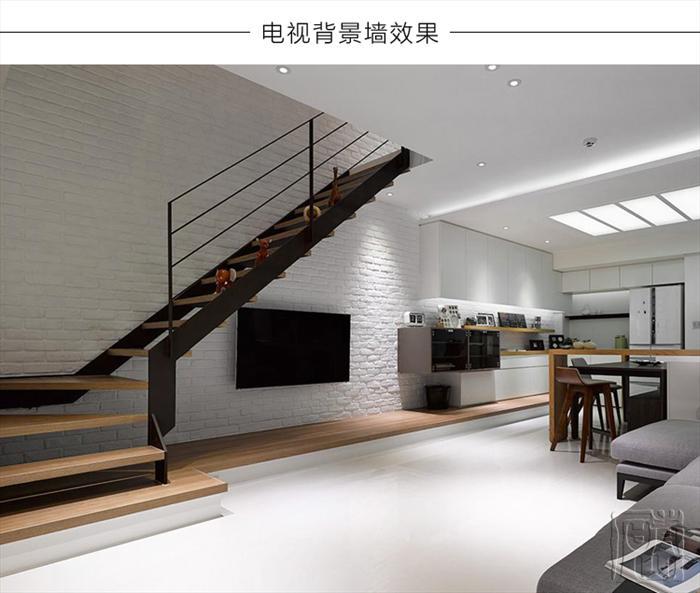 青山白砖电视背景墙人造文化石现代瓷砖室内