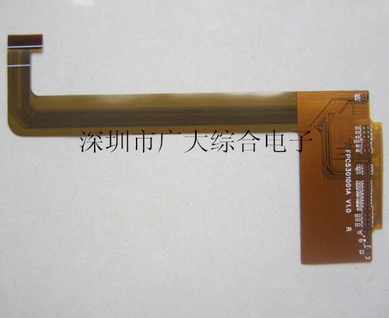 fpc软排线,pi补强fpc,深圳fpc生产厂家 fpc工艺能力 : 1 基材 聚酰亚胺/聚脂 2 基材厚度 0.025mm---0.125mm 2 拼版尺寸 最大250*600mm 3 钻孔孔径 最大直径:6.5mm 最小直径:0.25mm 4 钻孔孔径公差  0.025mm 5 钻孔最小间距:0.20mm 6 蚀刻线宽、线距 3mil (0.075mm) 7 抗绕曲能力 >15万次 8 最小覆盖膜桥宽 0.