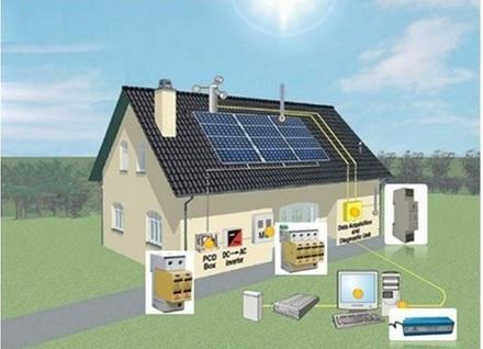 扬州太阳能光伏电站建设别墅太阳能发电家用太阳能光伏发并网