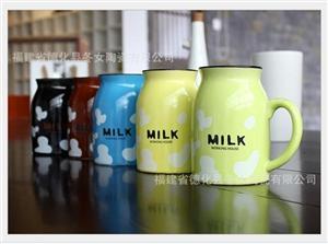 热卖zakka陶瓷牛奶杯 复古陶瓷早餐杯 陶瓷杯 创意家居 zakka杂货