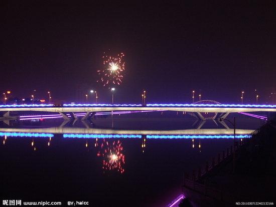 环岛公路夜景照明