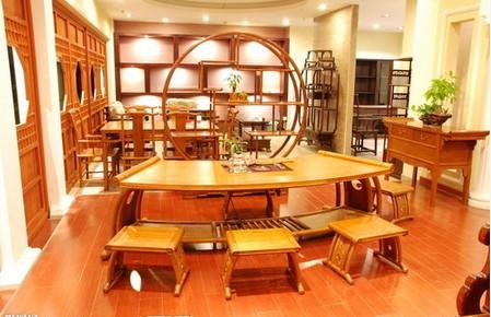 四大展厅红木家具齐聚仙游流派户外家具图片