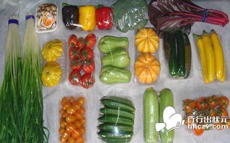 果蔬包装材料