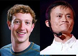 阿里马云对话Facebook扎克伯格