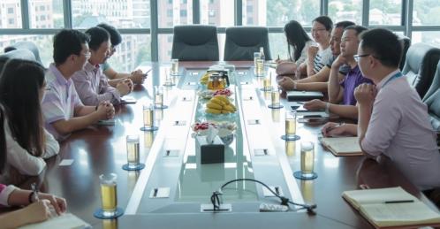 助力学生实践与创新——众事达与湄职院的校企合作会议顺利召开