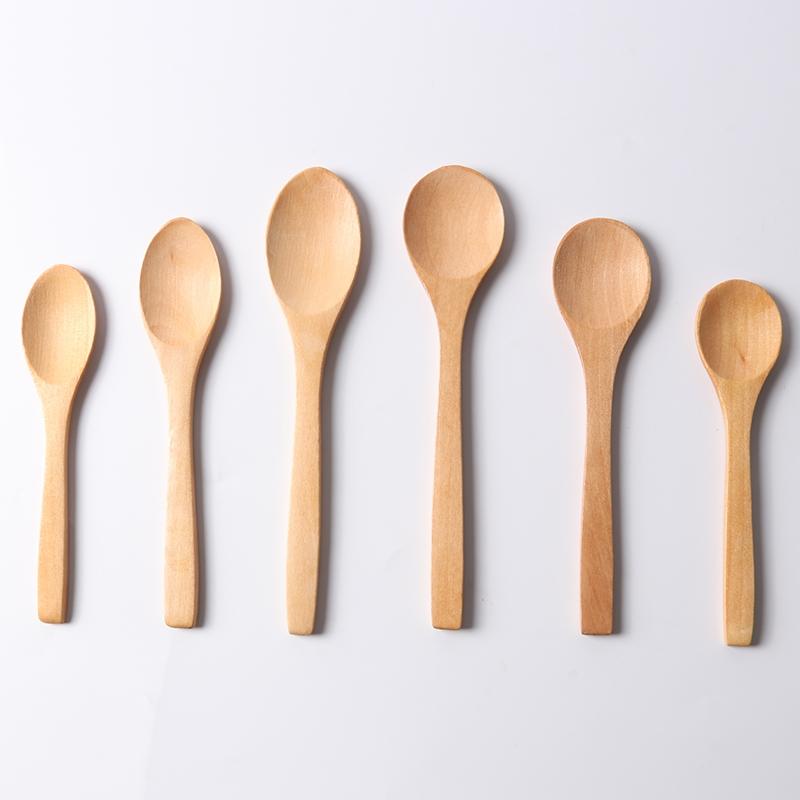 日式儿童调羹 小木勺