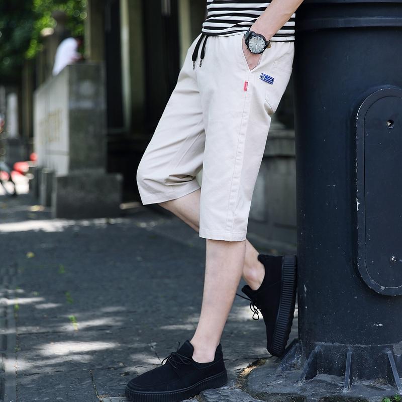 纯棉七分裤