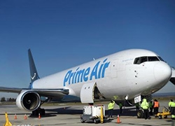 亚马逊扩增15架飞机运货,计划2021年达到70架