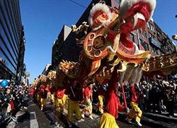 """海外华人备战""""年货节"""",满满的都是中国味"""