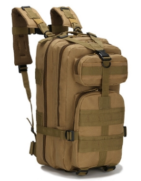 廠家現貨批爆款軍迷戰術包戶外運動登山包30L牛津防水迷彩3p背包