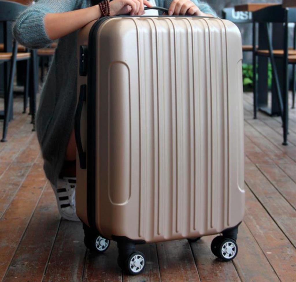 訂做拉桿箱ABS旅行箱行李箱定制密碼登機箱外貿工廠密碼箱
