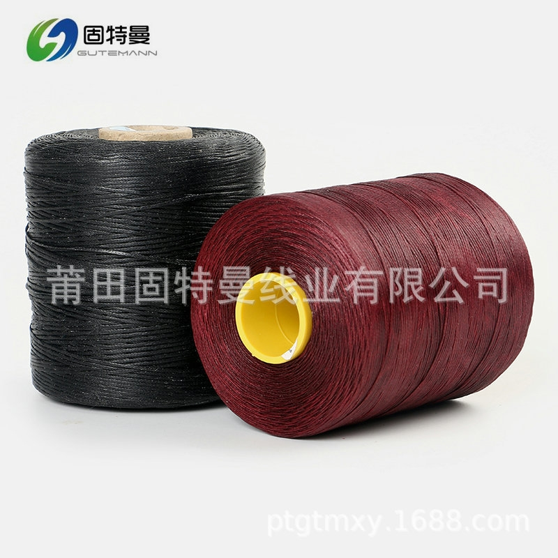 廠家直銷手縫扁蠟線手工縫紉線