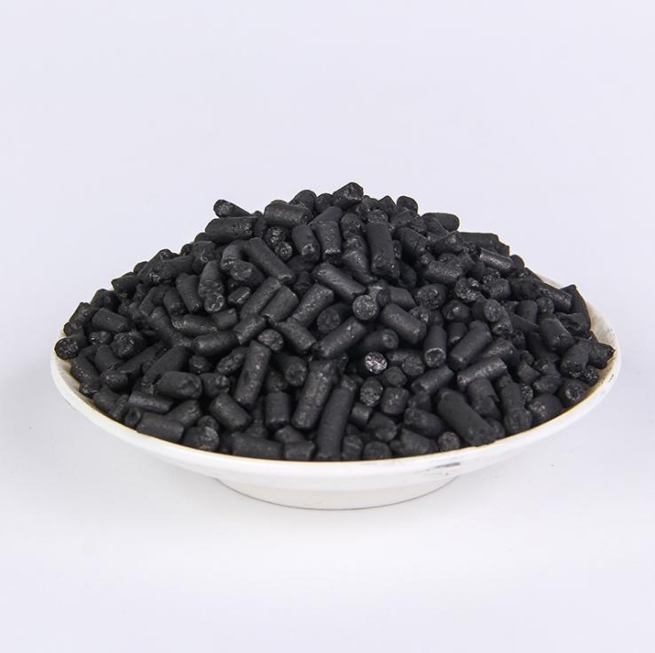廠家直銷木質柱狀活性炭2-4mm 高比表面積柱狀活性炭