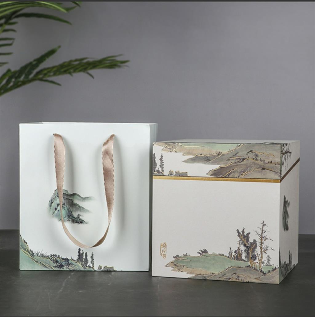 中國風茶葉鋁膜禮盒