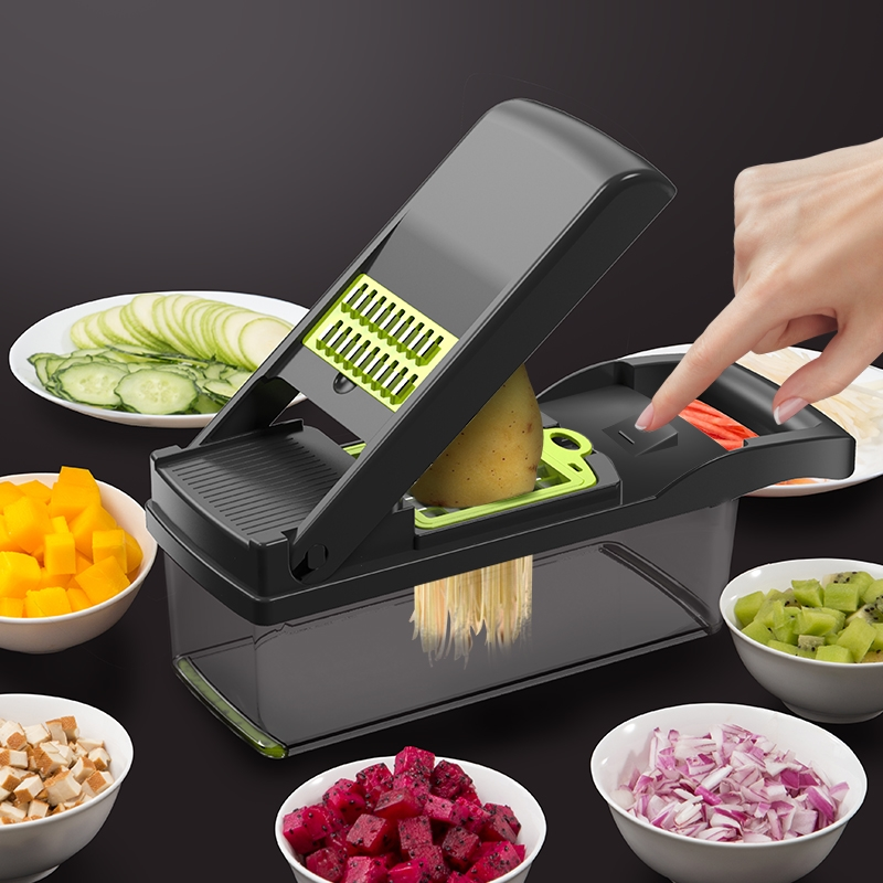 切菜神器多功能切丁土豆丝切丝器刨丝器家用土豆片切片厨房擦丝器