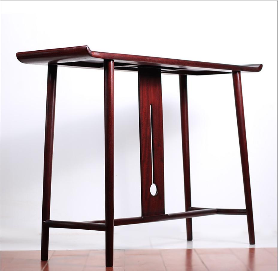 中式仿古条案实木供桌传统条案家用香案展示架画案玄关摆设架
