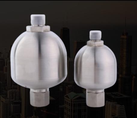 隔膜式蓄能器液压元件阻尼器定制304 316 2205 双向不锈钢蓄能器
