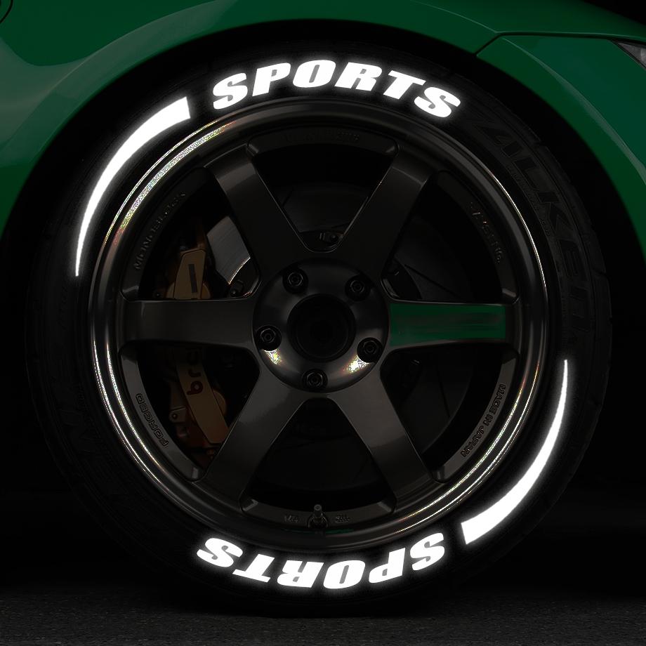 汽车轮胎装饰贴