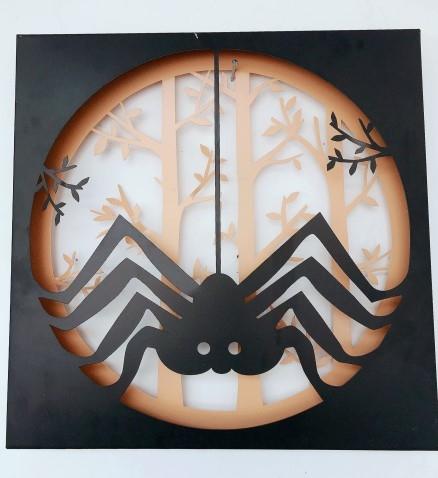 厂家直销 创意金属工艺品镂空铁艺 蜘蛛 室内客厅摆件装饰品