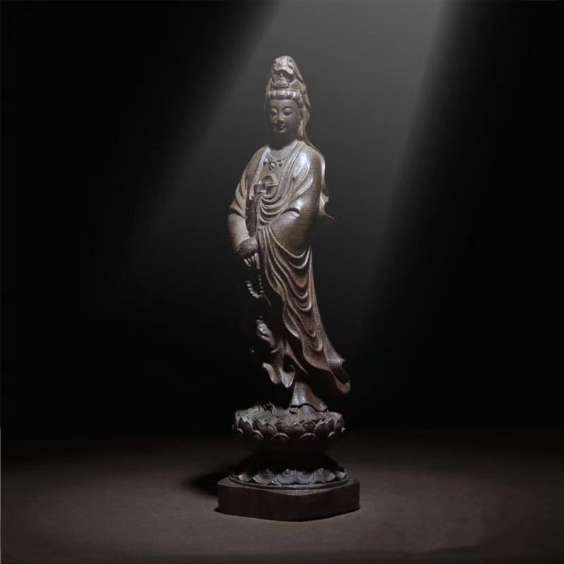 越南沉香木观音菩萨