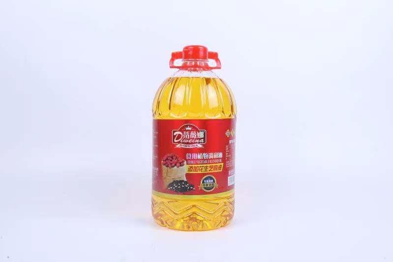 福州德晟食品有限公司 蒂薇娜葵花籽油食用油5L/桶 超市采购粮油